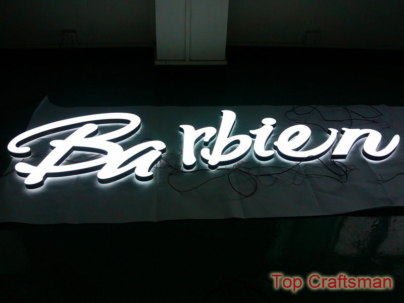 Face lit and back lit LED Acrylics letter & Acrylic Signs